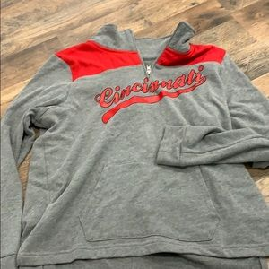 Cincinnati quarter zip
